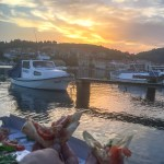 Korcula Croatia - Vela Luka Pizza Sunset