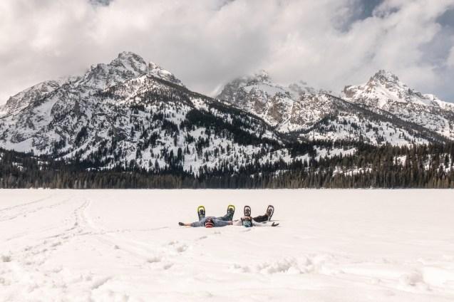 Snowshoeing Grand Teton National Park