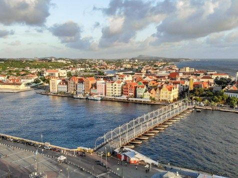 Willemstad Curacao Drone Photography
