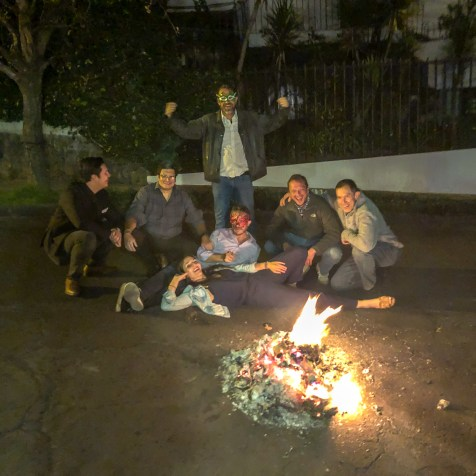 New Year's Eve in Ecuador