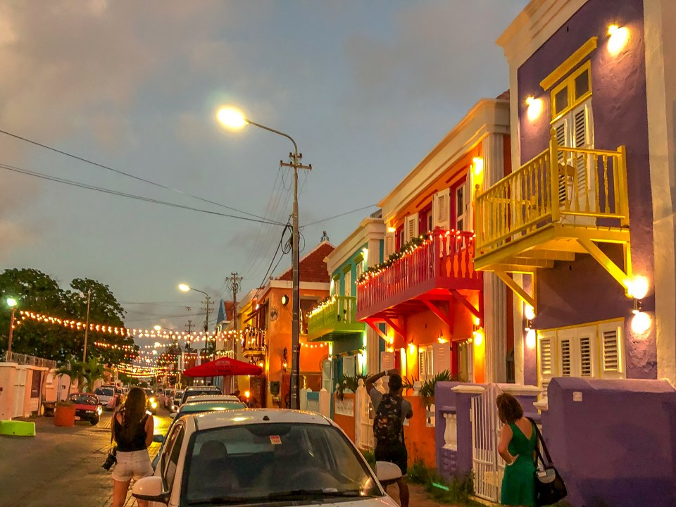 Pietermaai District Willemstad Curacao