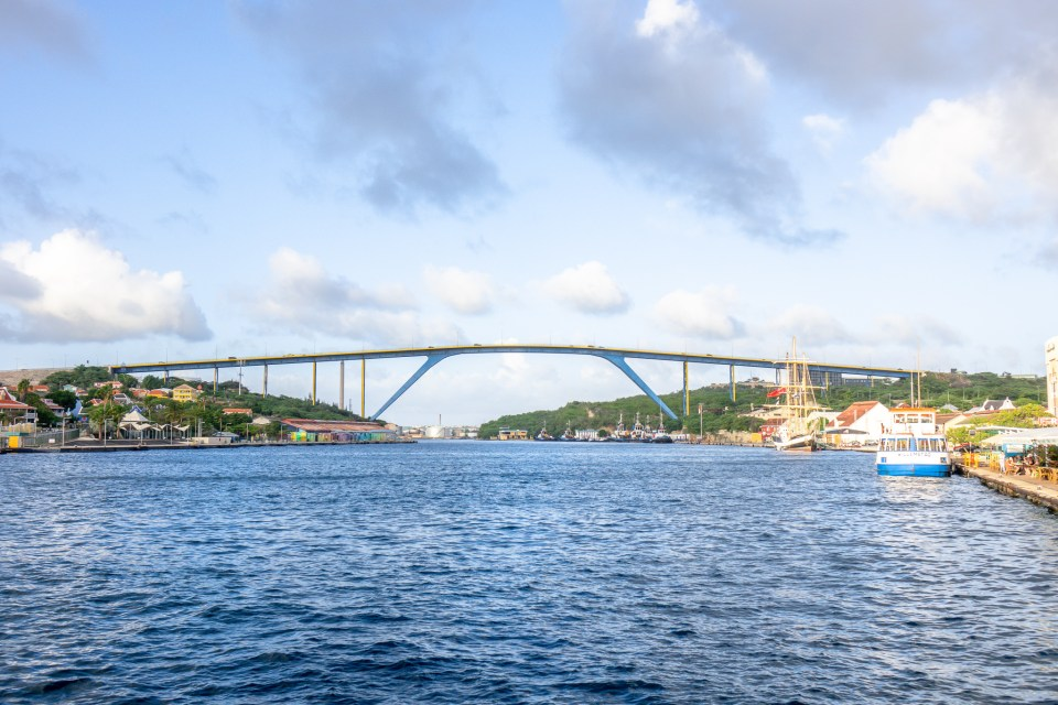 Self-Guided Walking Tour of Willemstad, Curaçao - Queen Juliana Bridge