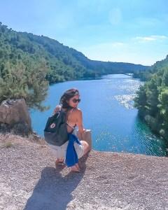 Fjallraven Kanken Classic D at Plitvice Lakes