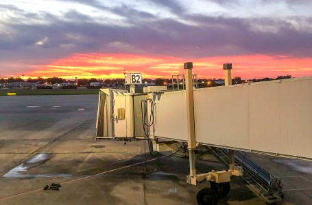 Southwest Airport Terminal Sunset