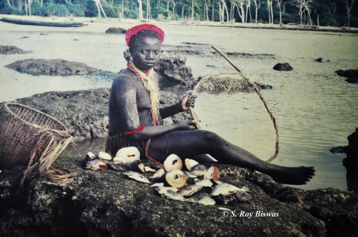 Jarwa Girl ,Jarwa Tribe, Andaman and Nicobar Island