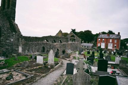 cimitero chiesa a howth