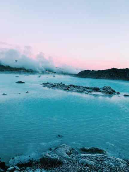 Blue Lagoon sunrise