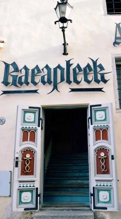 Farmacia più antica d'Europa a Tallinn