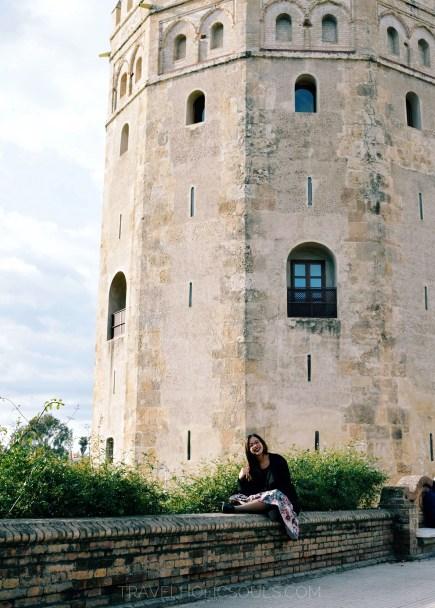La torre d'oro a Siviglia