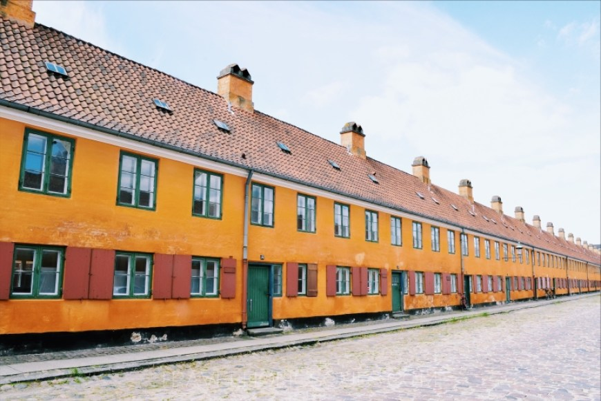 Nyboder in Copenaghen