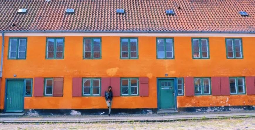 Nyboder district in Copenhagen