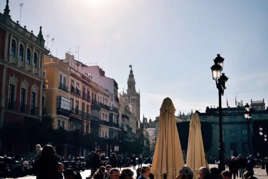 scena di vita Siviglia spagna