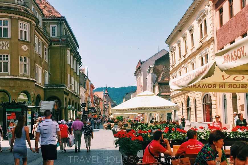 Via principale di Brasov