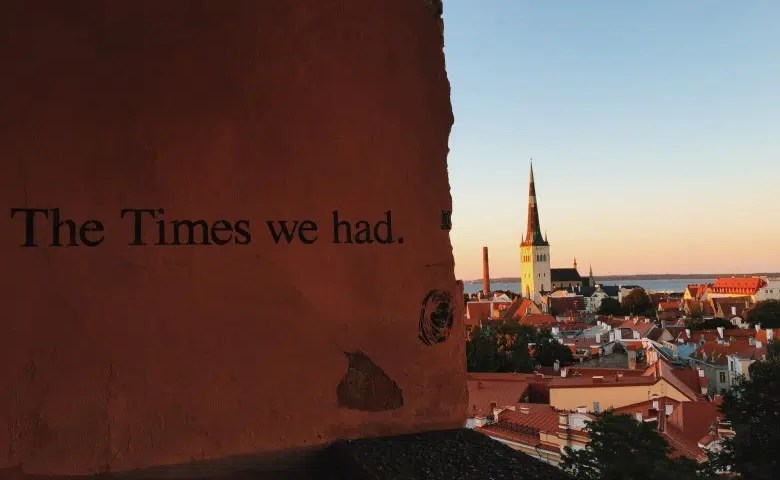 Toompea hill in Tallinn