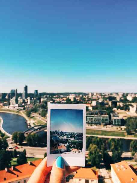 Vista panoramica di Vilnius
