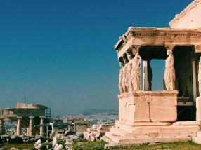 Athens acropolis ruins