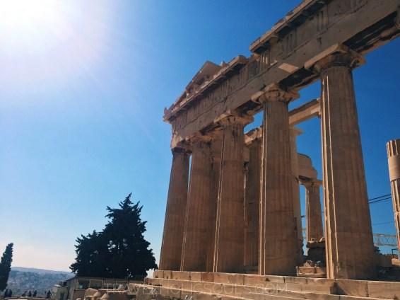 Resti Partenone Atene