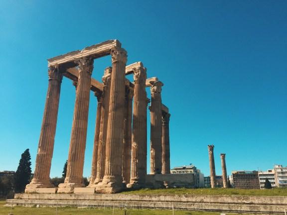 Rovine antica Grecia