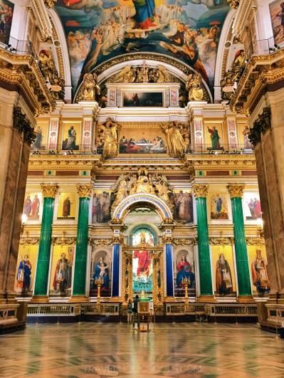 cattedrale sant'Isacco San Pietroburgo