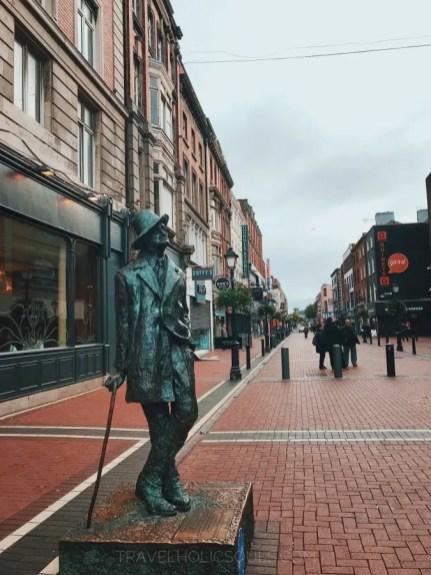 James Joyce Statua Dublino