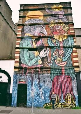 Murales Dublino Irlanda