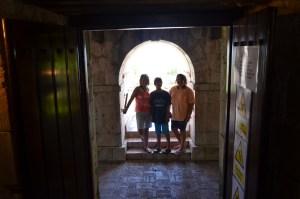 Underground of the Rose Hall in Jamaica