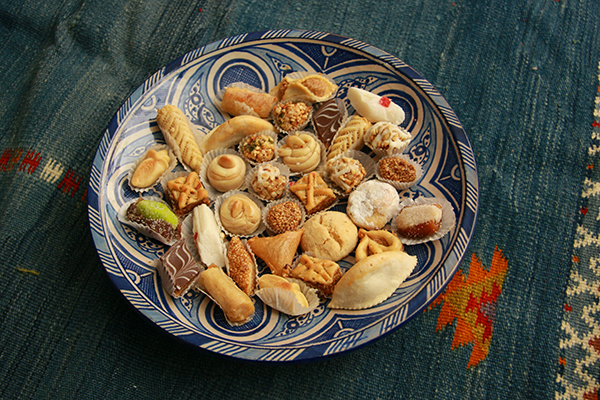 assorted Morrocan sweets