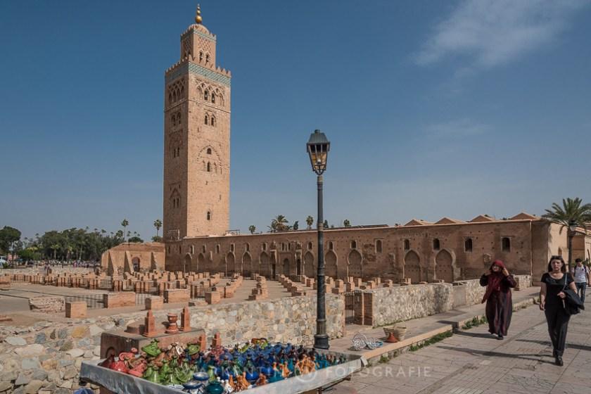 Koutubia Moschee in Marrakesch