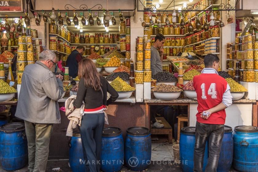 Händler in Marrakesch