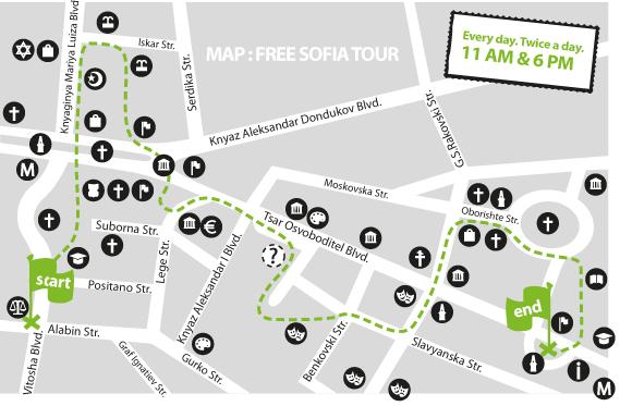 Free Sofia Tour