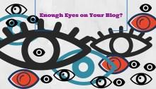 increase vews on blog