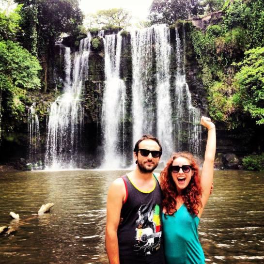 llanos de cortes waterfall costa rica