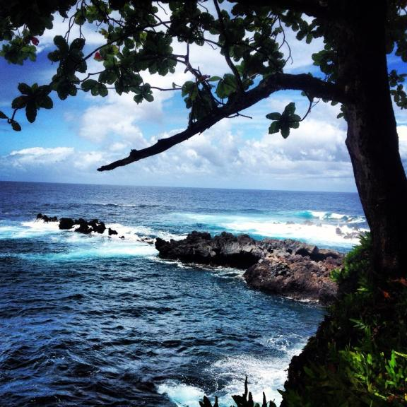 driving the road to hana