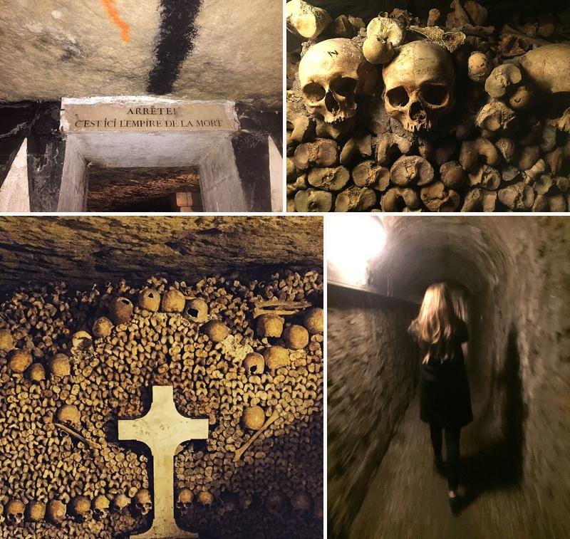 underground catacombs paris