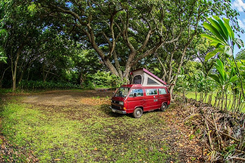 best maui campgrounds