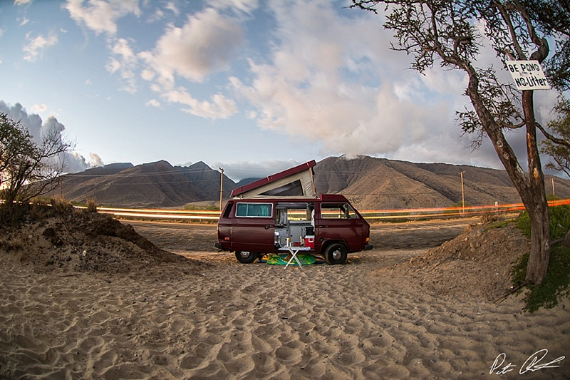 best camping in maui