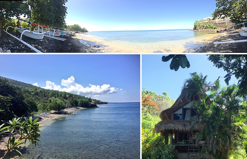 how to get to amed bali