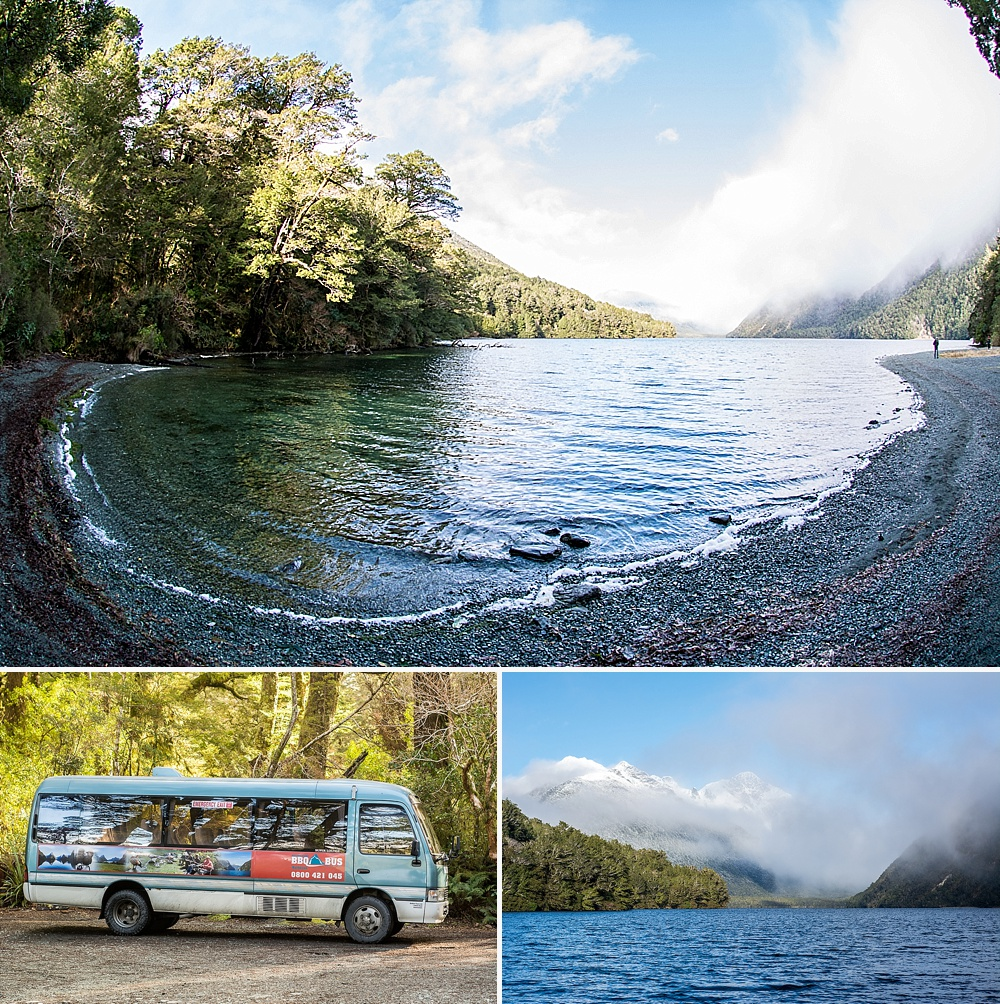 where to stop on drive to milford sound