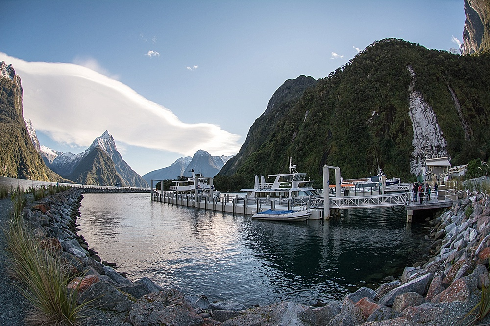 Milford Sound by Bus & Boat
