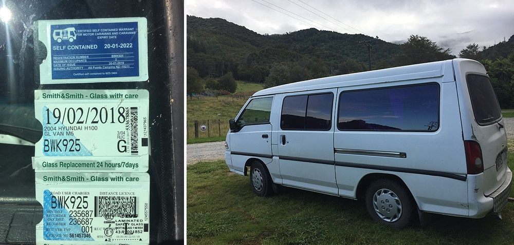 getting campervan self contained in nz