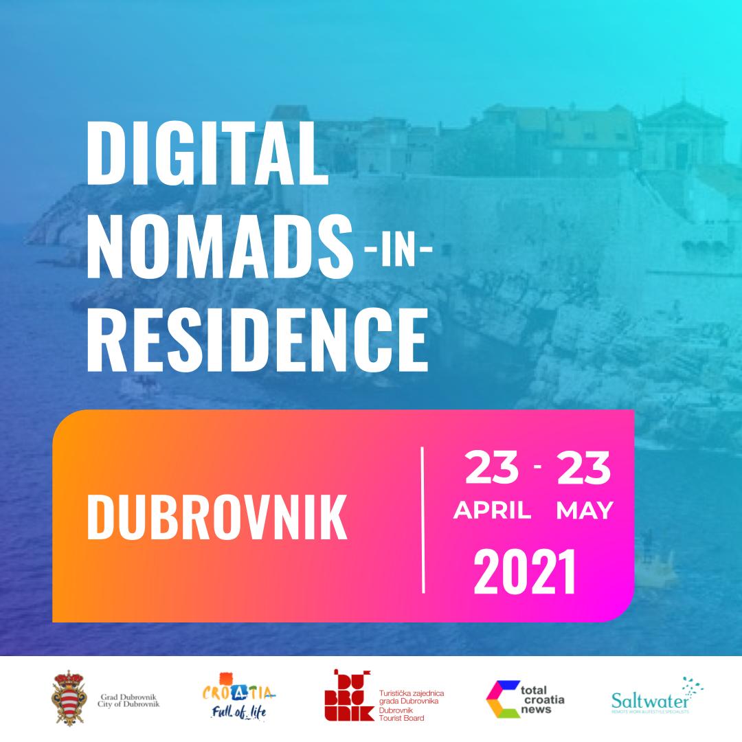 digital nomads in residence dubrovnik croatia