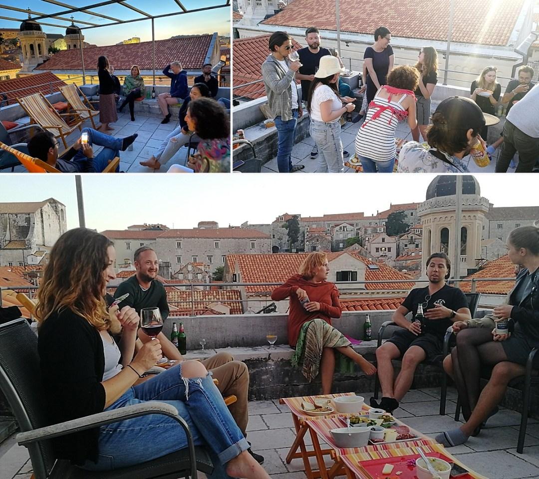 rooftop parties dubrovnik croatia
