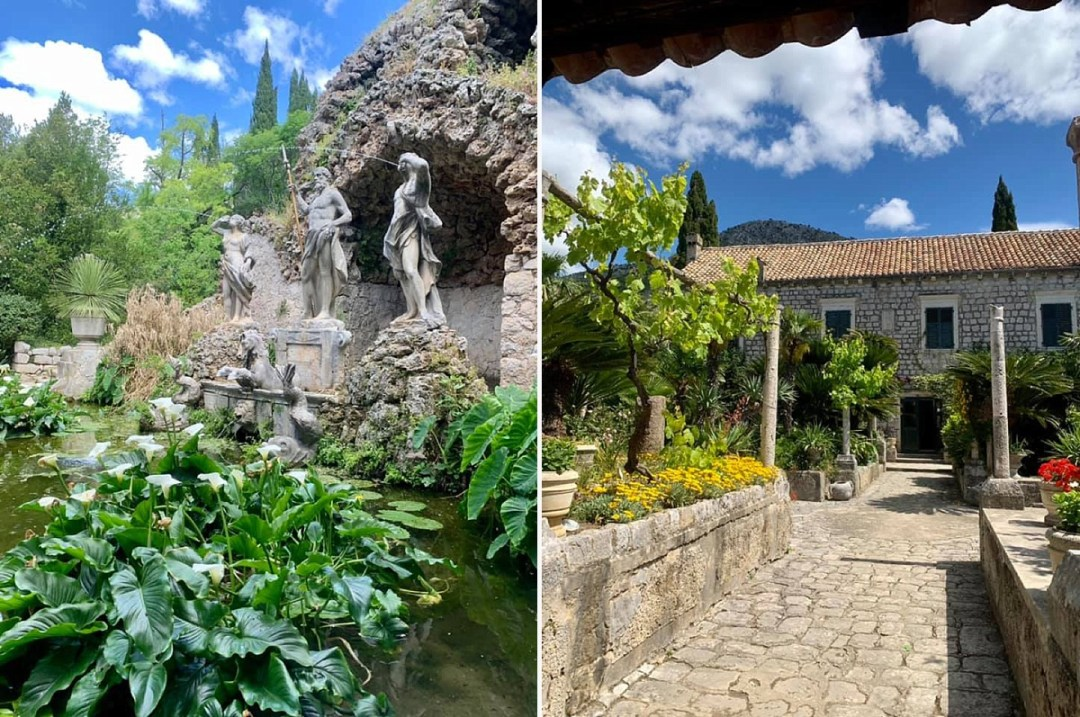 top day trips from dubrovnik trsteno arboretum