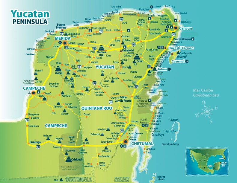 Which Mayan Ruins to Visit? Exploring the Yucatan, Mexico ...