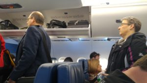 Expanded Overhead Bins