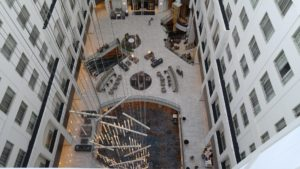 Lobby from the 12th floor