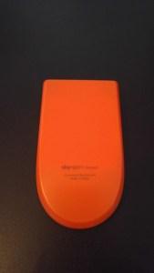 Orange back!