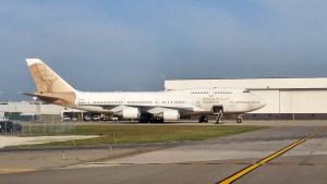 AtlasAir 747-400 at DTW