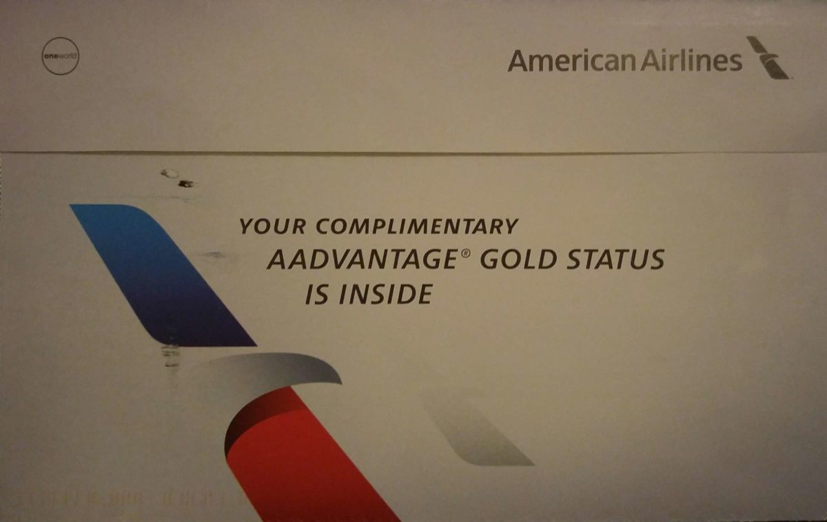 American Airlines: Gold Status Offer