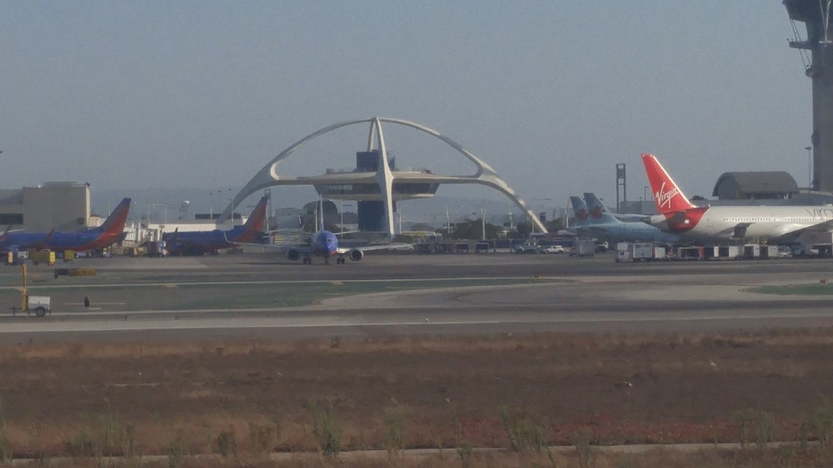 Sacramento Flight and LAX Plane Spotting